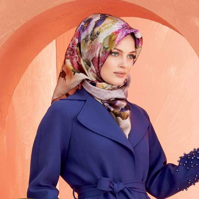 Armine :  A Gift from Heaven Pure Silk Head Wrap