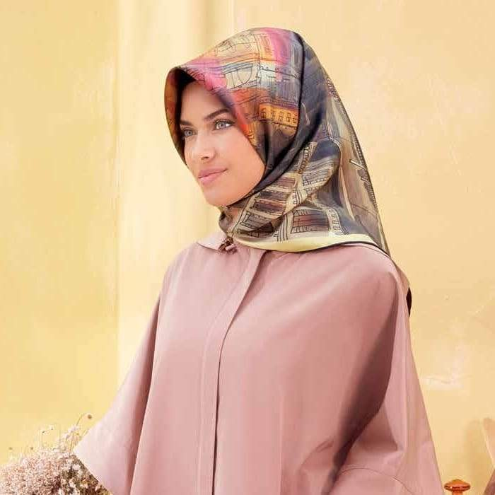 Armine : A Beautiful Night in The City Silk Hijab Scarf Silk Hijabs,Armine Armine