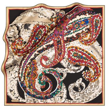 Cacharel Mindy Silk Scarf No. 11 Silk Scarves Cacharel