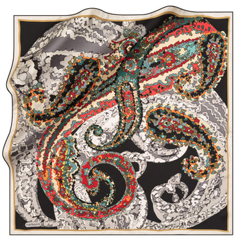 Cacharel Mindy Silk Scarf No. 12 Silk Scarves Cacharel