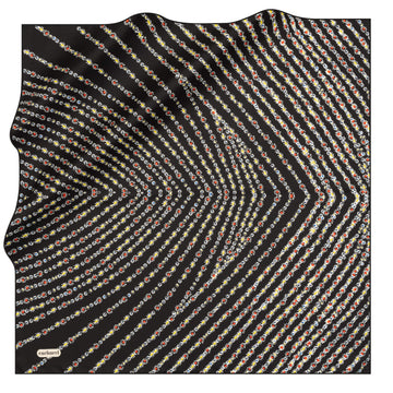 Cacharel Glamira Silk Twill Scarf No. 11 Silk Scarves Cacharel