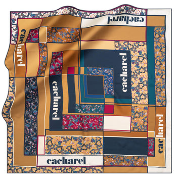 Cacharel Alice Silk Twill Scarf No. 21 Silk Scarves Cacharel
