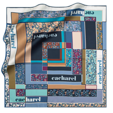 Cacharel Alice Silk Twill Scarf No. 22 Silk Scarves Cacharel