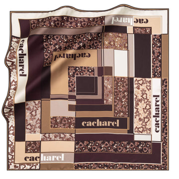 Cacharel Alice Silk Twill Scarf No. 41 Silk Scarves Cacharel