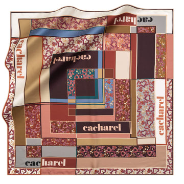 Cacharel Alice Silk Twill Scarf No. 91 Silk Scarves Cacharel