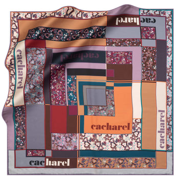 Cacharel Alice Silk Twill Scarf No. 92 Silk Scarves Cacharel