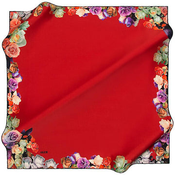 Aker A Bed of Roses Silk Hijab Aker,Silk Scarves Aker