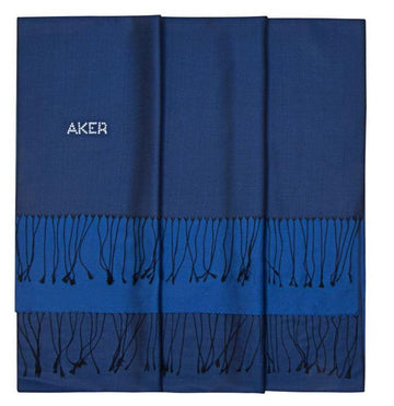 Aker Stylish Navy Blue Shawl for Women Silk Shawls Aker
