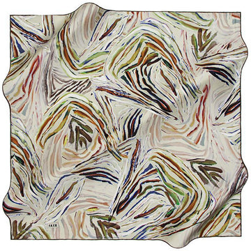 Aker An Oceanic Dream Silk Scarf - Fresh Aker,Silk Scarves Aker