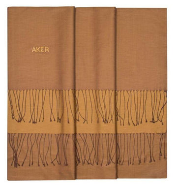 Aker Bi-Color Silk Shawl with Swavorski Stones - Santa Fe Silk Shawls Aker