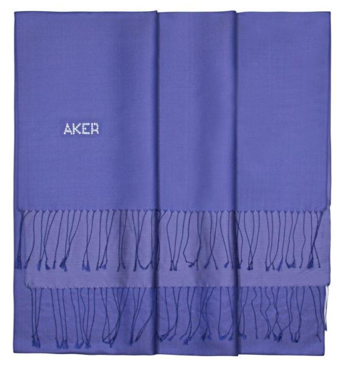 Aker Beautiful Silk Shawl for Ladies