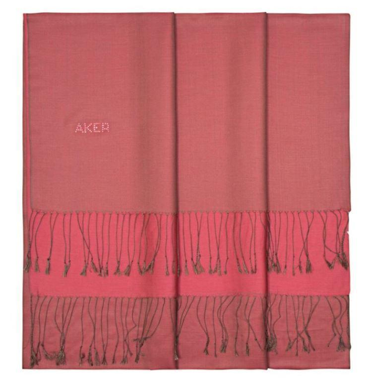 Aker Bi-Color Women Silk Shawl Wrap - Mandy Silk Shawls Aker