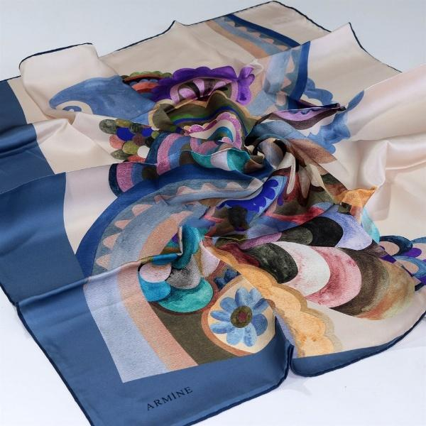 Armine : Adrianna Twilly Silk Scarf for Ladies Silk Hijabs,Armine Armine