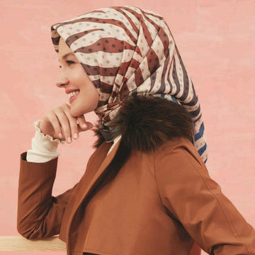 Armine Michigan Pure Silk Scarf No. 31 Silk Hijabs,Armine Armine