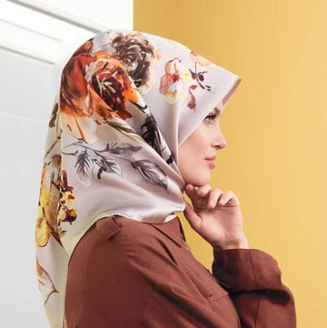 Armine Grace Turkish Silk Scarf No. 1 Silk Hijabs,Armine Armine