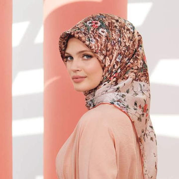 Armine Fleur Turkish Silk Wrap No. 1 Silk Hijabs,Armine Armine