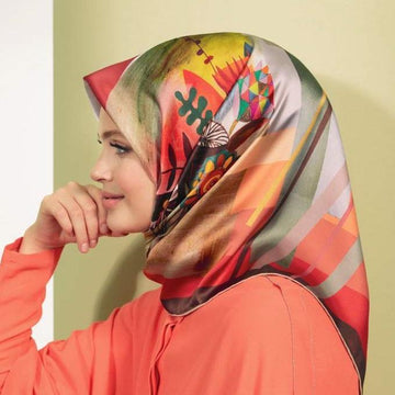 Armine Summer Turkish Silk Scarf No. 1 Silk Hijabs,Armine Armine
