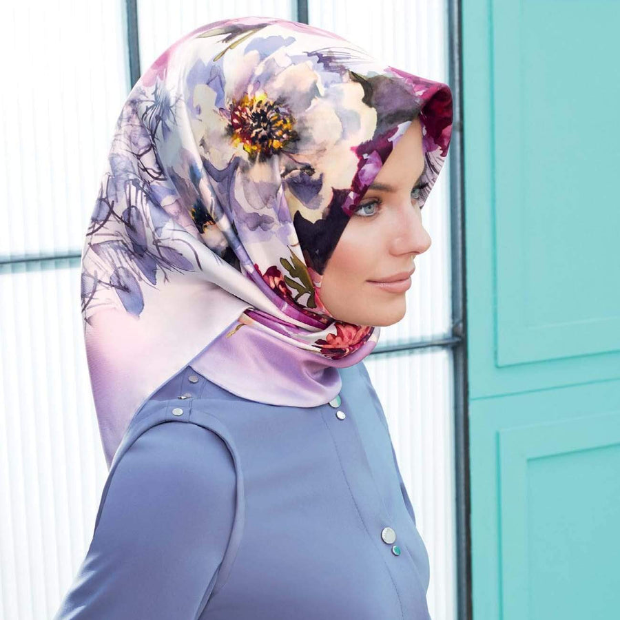 Armine : Ambrosia Pretty Formal Silk Hijab