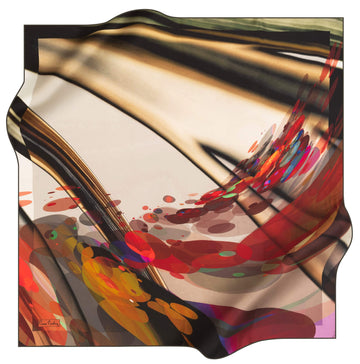 Pierre Cardin Wave Silk Scarf No. 12 Pierre Cardin,Silk Scarves Pierre Cardin