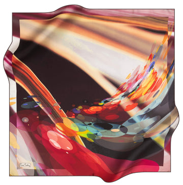Pierre Cardin Wave Silk Scarf No. 41 Pierre Cardin,Silk Scarves Pierre Cardin