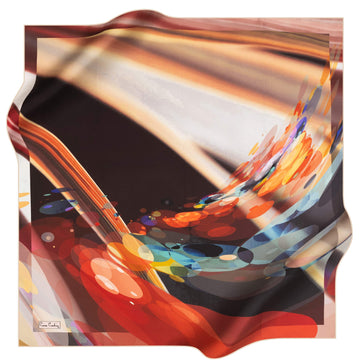 Pierre Cardin Wave Silk Scarf No. 61 Pierre Cardin,Silk Scarves Pierre Cardin