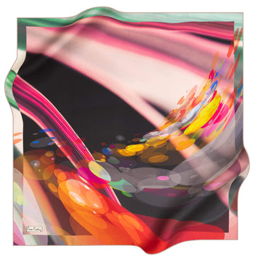 Pierre Cardin Wave Silk Scarf No. 91 Pierre Cardin,Silk Scarves Pierre Cardin