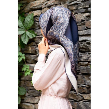 Vissona Victoria Turkish Silk Twill Scarf Silk Hijabs Vissona