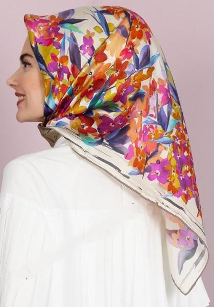 Aker Destiny Turkish Silk Scarf No. 32 Aker,Silk Scarves Aker