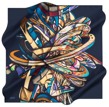 Aker Artisan Turkish Silk Scarf No. 21 Aker,Silk Scarves Aker