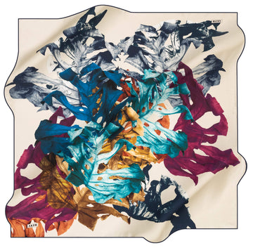 Aker Leaf Turkish Silk Scarf No. 21 Aker,Silk Scarves Aker