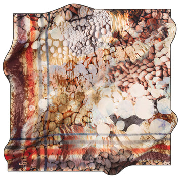 Aker Bubbles Turkish Silk Scarf No. 11 Aker,Silk Scarves Aker