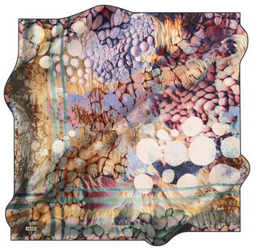 Aker Bubbles Turkish Silk Scarf No. 21 Aker,Silk Scarves Aker