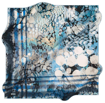 Aker Bubbles Turkish Silk Scarf No. 22 Aker,Silk Scarves Aker