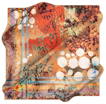 Aker Bubbles Turkish Silk Scarf No. 61 Aker,Silk Scarves Aker