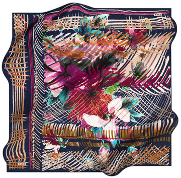 Aker Florence Silk Hair Cover No. 23 Silk Hijabs,Aker,Silk Scarves Aker