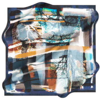 Aker Potrait Turkish Silk Scarf No.71 Aker,Silk Scarves Aker