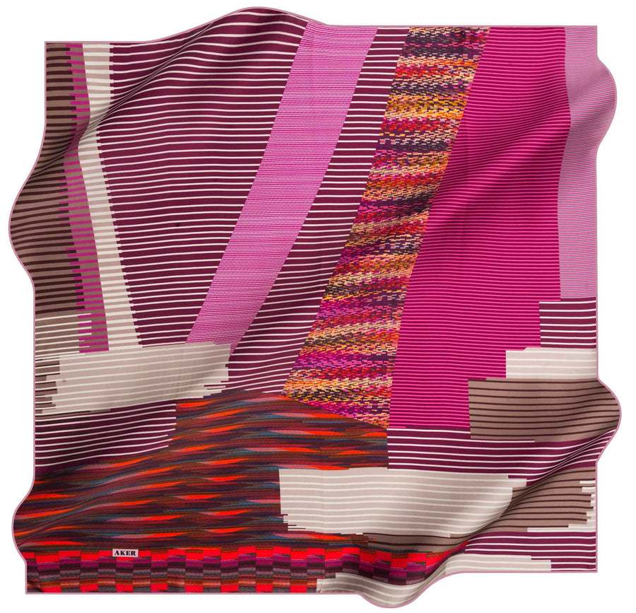 Aker Turkish Silk Scarf Vue No. 91 Silk Hijabs,Aker,Silk Scarves Aker