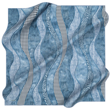 Aker Miranda Silk Hair Wrap No. 22 Aker,Silk Scarves Aker