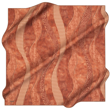 Aker Miranda Silk Hair Wrap No. 31 Aker,Silk Scarves Aker