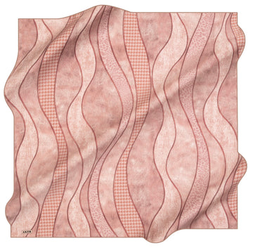 Aker Miranda Silk Hair Wrap No. 91 Aker,Silk Scarves Aker