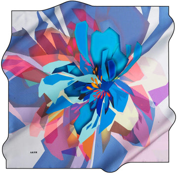 Aker Trendy Turkish Silk Scarf Hextor No. 22 Silk Hijabs,Aker,Silk Scarves Aker