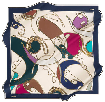 Aker Regatta Turkish Silk Scarf No. 21 Silk Hijabs,Aker,Silk Scarves Aker