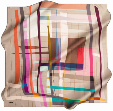 Aker Turkish Silk Scarf for Women Carly No. 31 Silk Hijabs,Aker,Silk Scarves Aker
