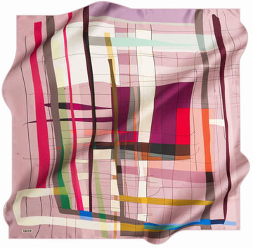 Aker Turkish Silk Scarf for Women Carly No. 91 Silk Hijabs,Aker,Silk Scarves Aker