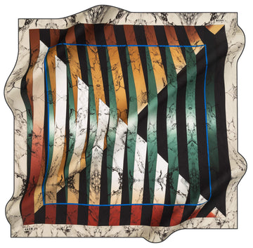 Aker Mondial Turkish Silk Scarf No. 13 Aker,Silk Scarves Aker