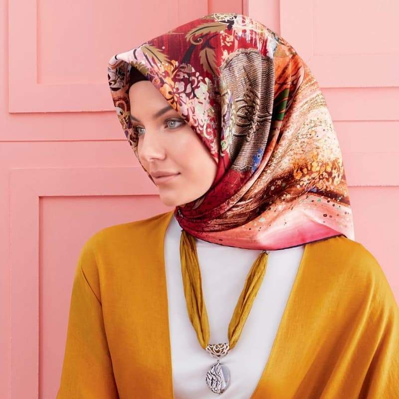 Armine : Ali Premium Silk Scarf from Turkey
