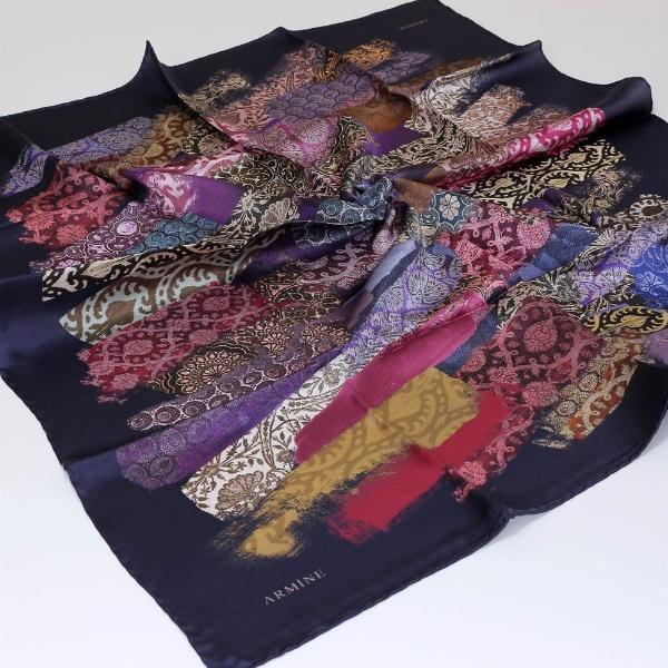 Armine : A Perfect Gift for You and Me Luxury Scarf Silk Hijabs,Armine Armine