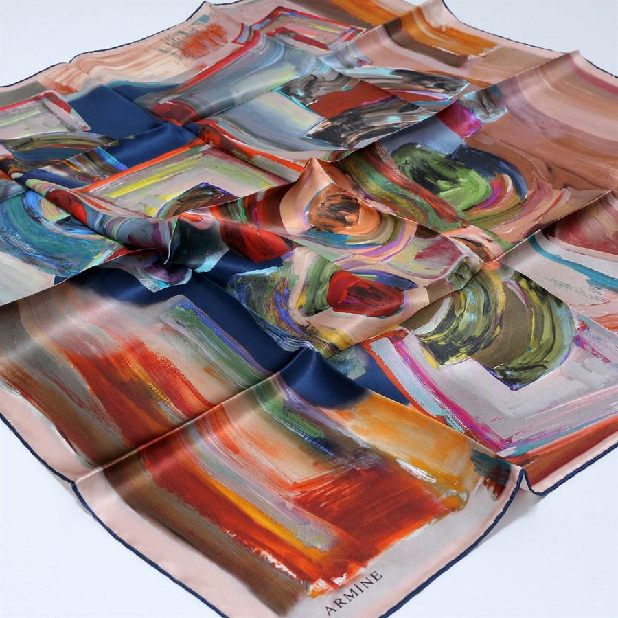 Armine Turkish Silk Scarves Electric Prism 4 Silk Hijabs,Armine Armine