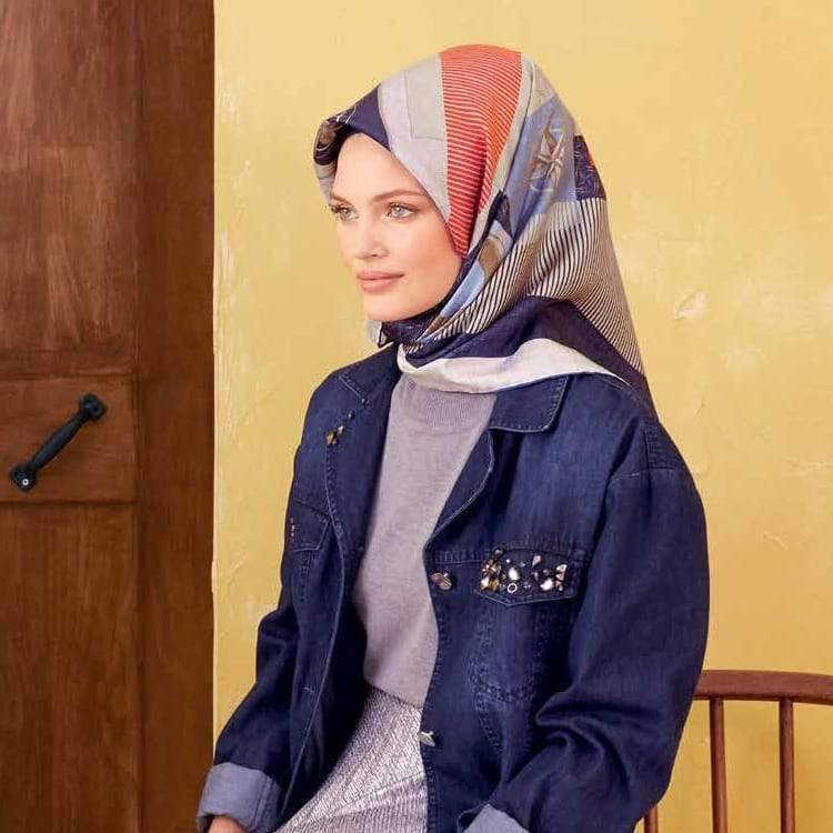 Armine : A Weekend Chic Scarf for Women Silk Hijabs,Armine Armine