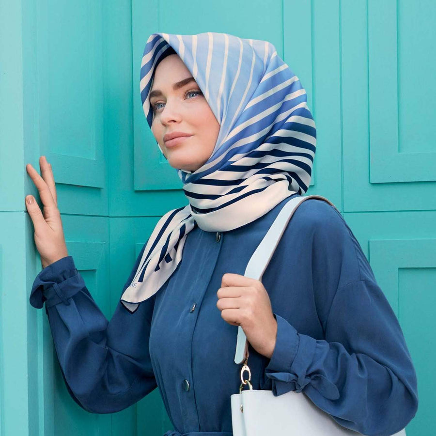 Armine :  Antalya Luxury Twill Scarf from Turkey